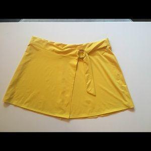 LA BLANCA Swim Cover up Skirt Large